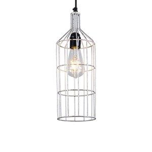 Hanglamp Frame Luxe D zilver
