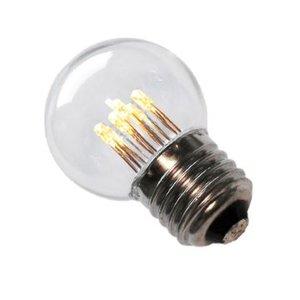 LED Lamp E27 1W G45 Warm-wit 2700K - speciaal voor prikkabel