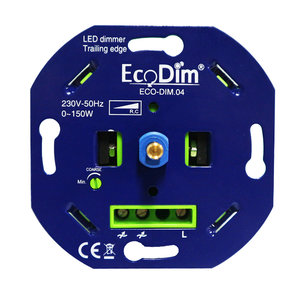 ECODIM.04 Led dimmer universeel 0-150W fase Afsnijding (RC) | Basic