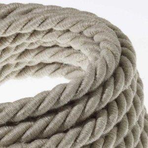 Touwsnoer XL natuurlijk linnen (16mm) 3x 0.75 per 10 cm hoofdfoto