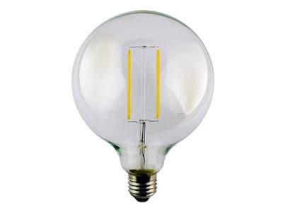 LED globe grote bol E27 2W 2200K Helder (G125)