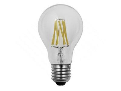 Dimbare led lamp E27 8W 2200K HELDER (A60)