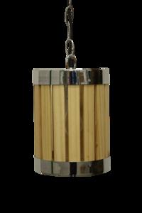 Hanglamp Hout Barrel 20Cm