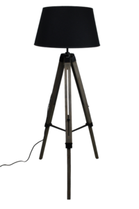 Staande Lamp Driepoot Old Iron 105-144Cm HSM