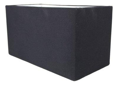 Lampenkap Rechthoek Zwart 40x20x22Cm HSM