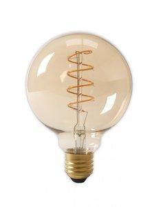 LED Globe Spiraal E27 3W 2200K (G95) | Dimbaar