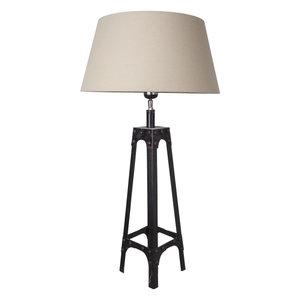 Tafellamp Gladiator Klinknagels 68Cm | Crême Conische Kap