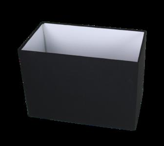 Lampenkap Rechthoek Antraciet 40x20x23Cm HSM