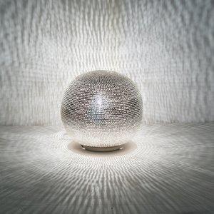 Ball Filisky Small Silver Zenza tafellamp