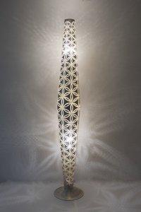 Babylon Wisdom Silver Zenza Vloerlamp