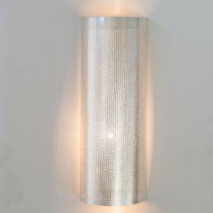 Wandlamp Cylinder Filisky Large Silver Zenza