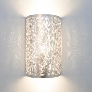 Wandlamp Cylinder Filisky Silver Zenza