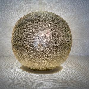 Ball Filisky XL Gold Zenza Tafellamp