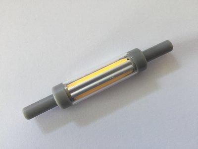 R7S Led Lamp 78mm Extra Dun (12mm) 5W | 2200K | Dimbaar