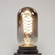 LED Kooldraadlamp Curl Titanium T45  Ø45mm E27 4W  Dimbaar