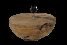 Tafellamp Halfball Teak Onbehandeld 40x40x24Cm