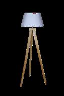 Staande Lamp Bamboe Driepoot 144cm
