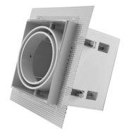 Led inbouw spot armatuur - 1x AR70 Wit   Trimless