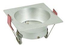 Led inbouw spot armatuur - Vierkant Aluminium | Verzonken