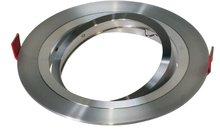 Led inbouw spot armatuur - 1x AR111 Aluminium | Richtbaar