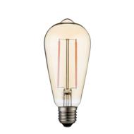 Dimbare led lamp E27 2W 2700K GOLD (ST64)
