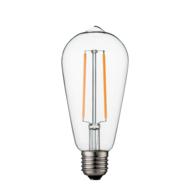 Dimbare led lamp E27 2W 2200K HELDER (ST64)